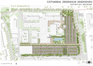 Ronnico ontwerp bewegwijzering catharinaziekenhuis