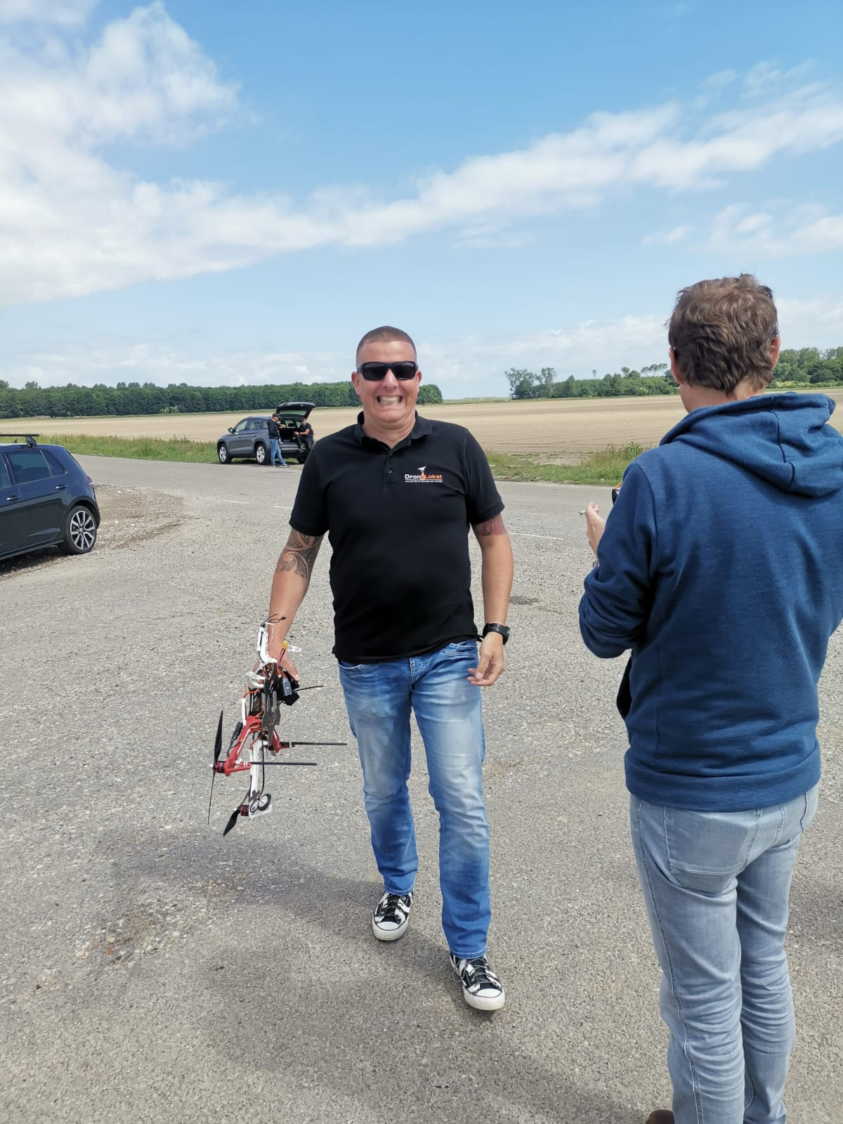 Ronnico werkt samen met Droneloket voor schouwen bebording